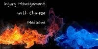 Injury Management and Chinese Medicine