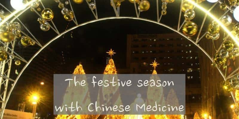 The festive season with Chinese Medicine