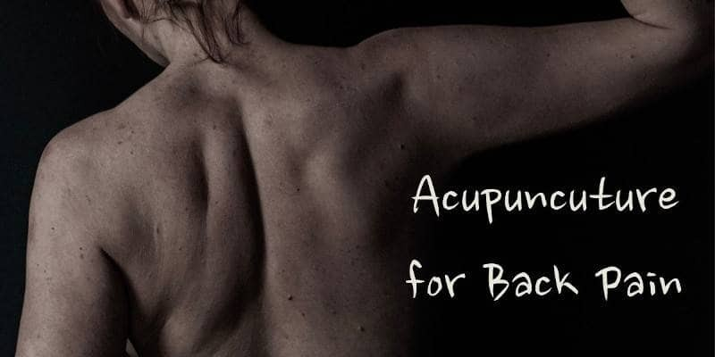 Acupuncuture for Back Pain
